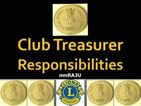 lions club treasurer   authorstream