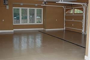finishing a garage floor gurus floor With finishing garage floor options