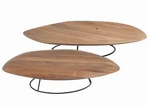 Table Ligne Roset : pebble by ligne roset modern coffee tables linea inc modern furniture los angeles ~ Melissatoandfro.com Idées de Décoration