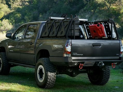 truck bed rack leitner designs active cargo system toyota tacoma