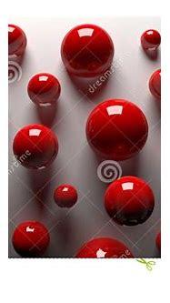 3D red balls stock illustration. Illustration of glass ...