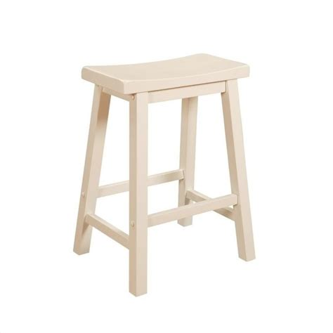 "Powell Furniture Color Story 24"" Counter Stool In Pure"
