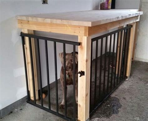 garage dog kennel workbench designed  undercutter