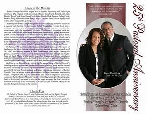 Best photos of pastor anniversary program templates free for Free pastor anniversary program templates