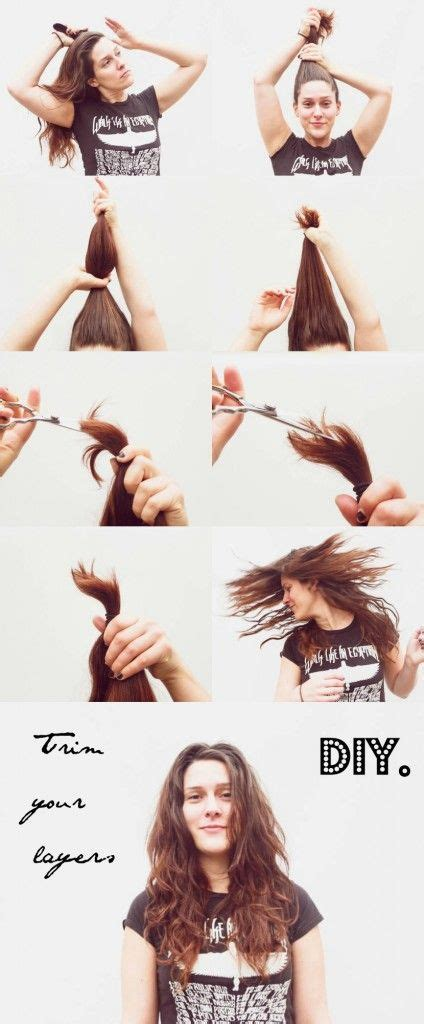 how to cut your own layers twists style and girls