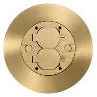 sf39253a hubbell brass floor box cover scrubshield 3