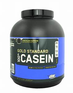 100  Casein Gold Standard By Optimum Nutrition  1820 Grams