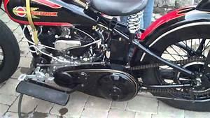 Antique Harley-davidson 1932 Vl Bobber
