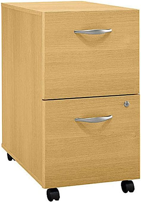 Desk Filing Cabinet On Wheels by Bush Wc60352 File Cabinet 2 Drawer Casters Allow Easy