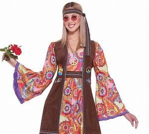 Hippie Love Child Women's 60's Costume