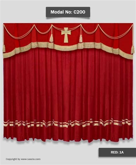 church drapes saaria church velvet stage curtains event theater backdrop