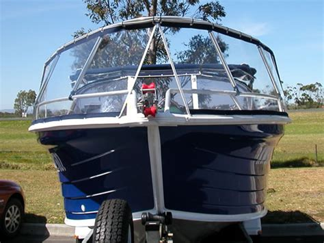Cheap Boat Covers Nz by Small Boat Spray Splash Guards The Fishing Website