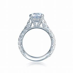 Tacori royalt collection diamonds by raymond lee for Wedding rings tacori