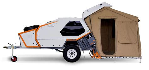 tvan camper trailer  original  road camper trailer