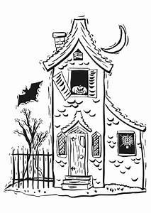 coloriage maison hantee sur hugolescargotcom With dessin de maison facile 4 pate 224 modeler maison facile
