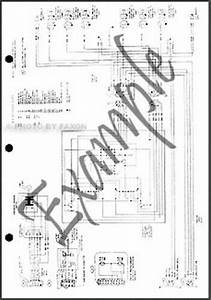 1989 Ford Truck Cab Foldout Wiring Diagram F600 F700 F800 Ft800