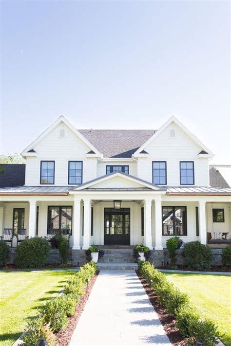 exploring white houses with black trim life on virginia