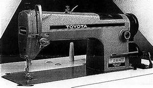 Toyota Industrial Sewing Machines