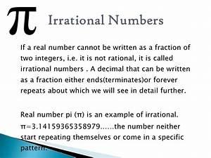 Irracional Significado