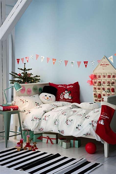 das kinderzimmer schoen und sicher weihnachtlich dekorieren