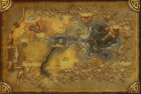 siege d orgrimmar cartes du patch 5 4 of warcraft