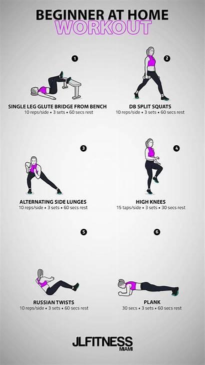 Workout Bodyweight Beginner Workouts Lower Additional Jlfitnessmiami