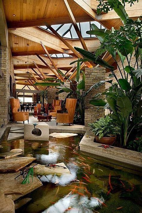 awesome indoor garden pond homemydesign