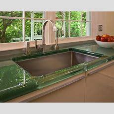 Eleganten Küche Arbeitsplatten Ideen, Mit Grüner Farbe
