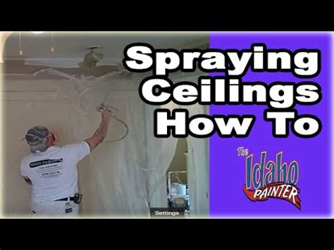 best airless paint sprayer for ceilings spraying interior ceilings painting ceilings with an