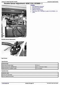 John Deere 750c  850c Crawler Dozer Service Repair