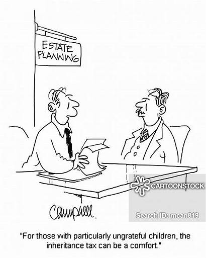 Tax Inheritance Planning Estate Cartoons Cartoon Funny