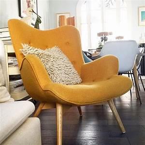 Fauteuil Jaune Ikea : fauteuil jaune la couleur intemporelle et tendance ~ Teatrodelosmanantiales.com Idées de Décoration