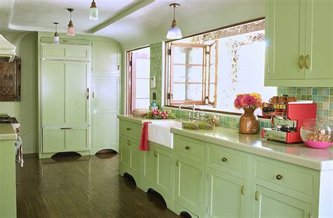 green and kitchen designers their favorite paint colors for green kitchens 7856