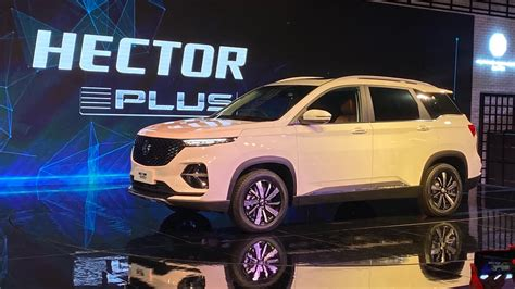 MG Hector Plus Revealed At 2020 Auto Expo; Launch In H2 2020
