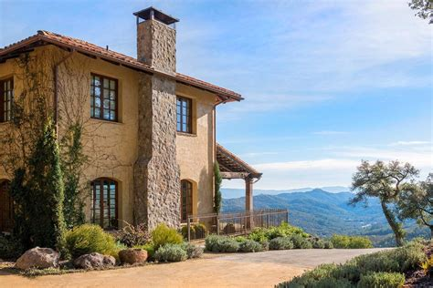 Kitchen Tiles Design Ideas - breathtaking tuscan inspired vacation villa in napa valley