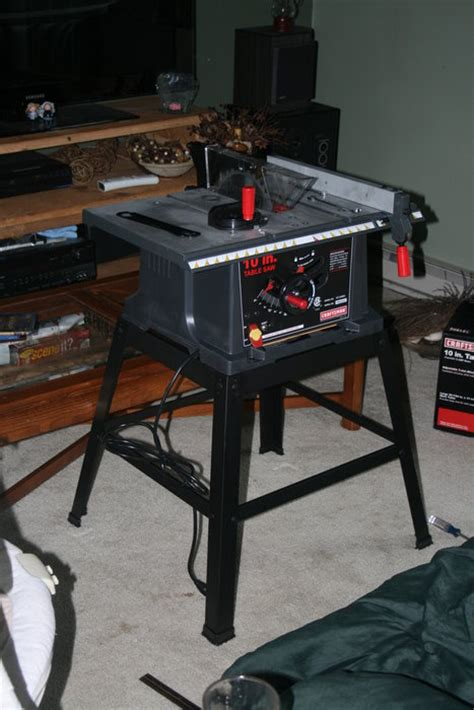 review craftsman    table   stand