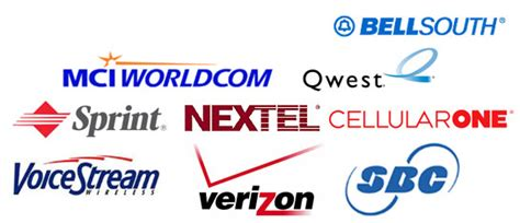 cell phone providers list a brief history of the rise and fall of telephone