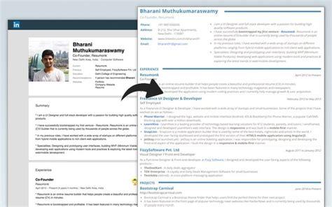 resume  linkedin quora