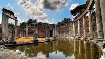 Ancient Greek Greece Wallpapers Temple Architecture Ruins