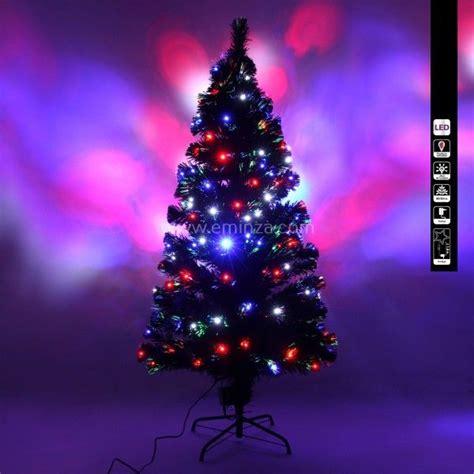 sapin de noel fibre optique sapin de no 235 l en fibre optique johnson h150 cm sapin et arbre artificiel eminza
