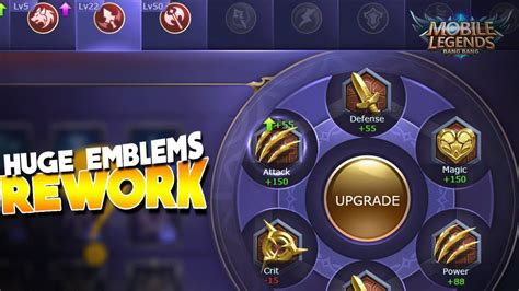 What Will Happen To The Emblems? Mobile Legends Rework