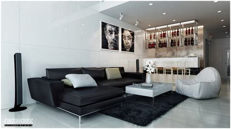 Chic Contemporary Spaces Rendered By Anh Nguyen by Chic Contemporary Spaces Rendered By Anh Nguyen Futura