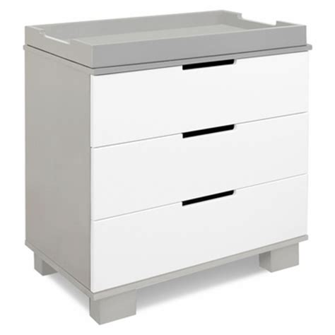 Babyletto Modo 3 Drawer Dresser White by Babyletto Modo 3 Drawer Dresser Changer W Removable