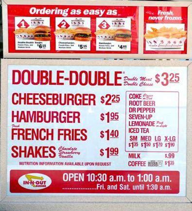 IN-N-OUT Burger Menu and Prices 2018 - RestaurantFoodMenu