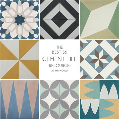 Buy Bathroom Tile by Where To Buy Cement Tiles Emily Henderson