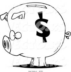 bank fã rs badezimmer money piggy bank coloring pages sketch coloring page