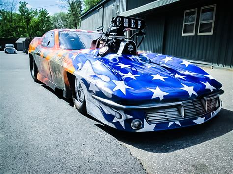 Dina Parise 1963 Chevrolet Corvette Pro Mod Custom Race