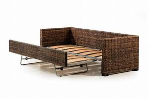 Wicker sofa bed sleeper sofas indoor wicker loveseats for Wicker futon sofa bed