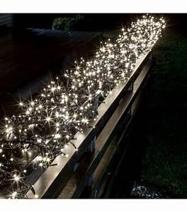 Guirlande Lumineuse Led Exterieur : guirlande lumineuse ext rieur led 768 diodes blanches ~ Melissatoandfro.com Idées de Décoration