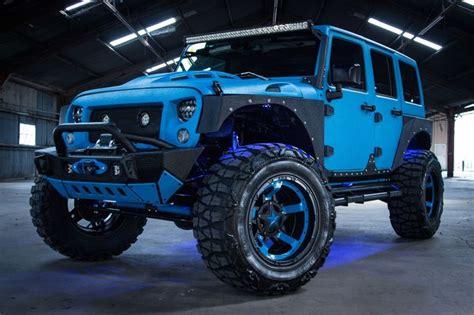 blue jeep wrangler ideas  pinterest blue jeep